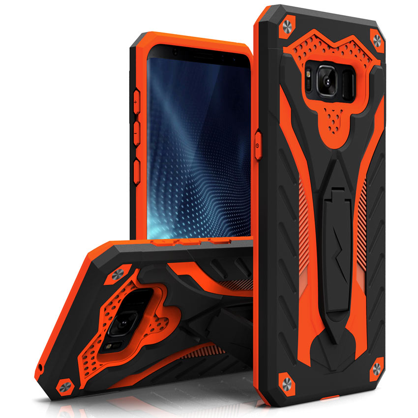 ORANGE GALAXY S8 PLUS CASE