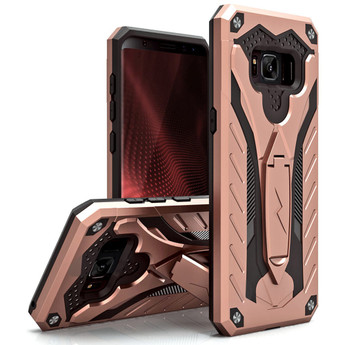 ROSE GOLD GALAXY S8 STATIC CASE