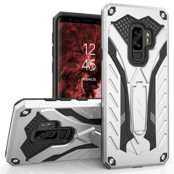 SILVER GALAXY S9 PLUS CASE