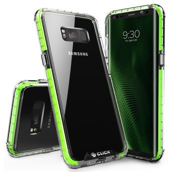 GREEN GALAXY S8 CASE