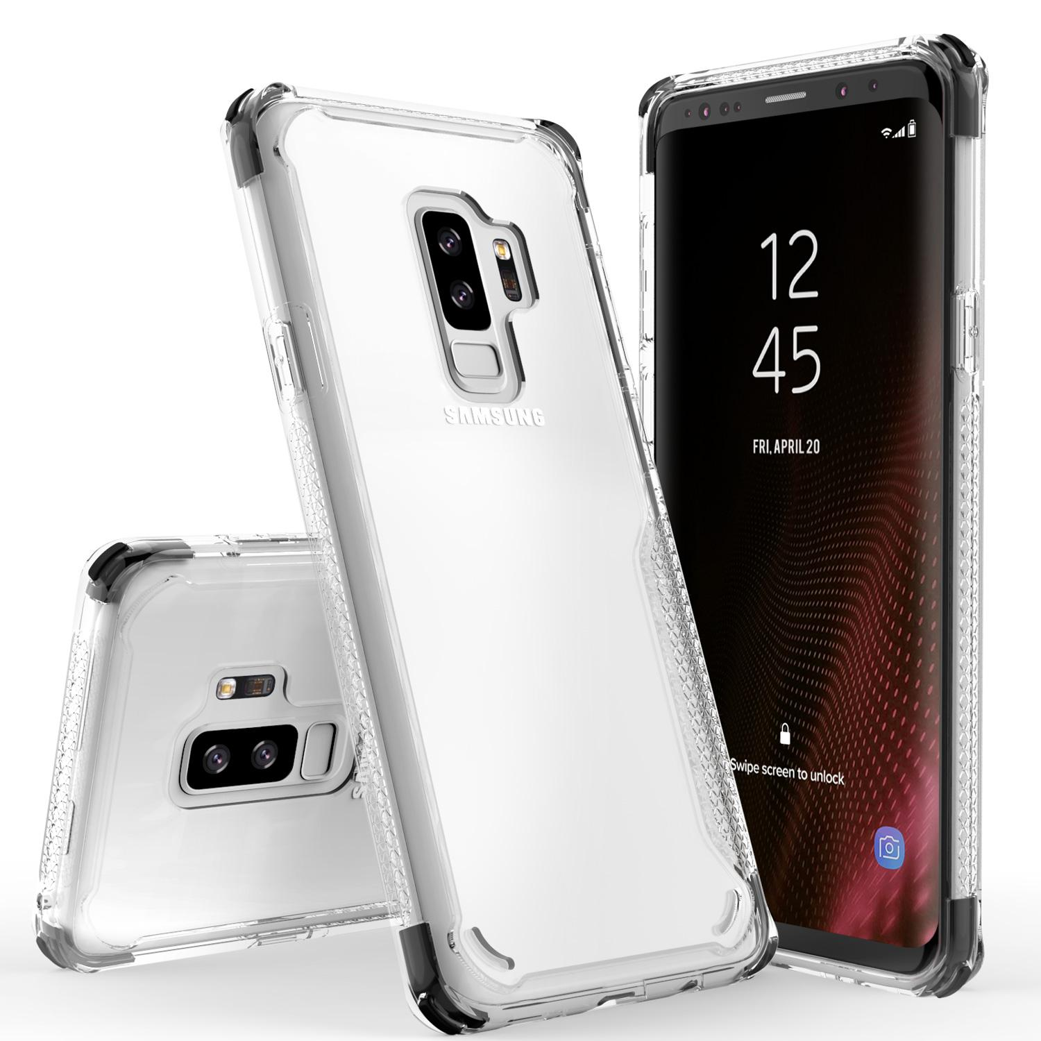 BLACK GALAXY S9 PLUS CASE