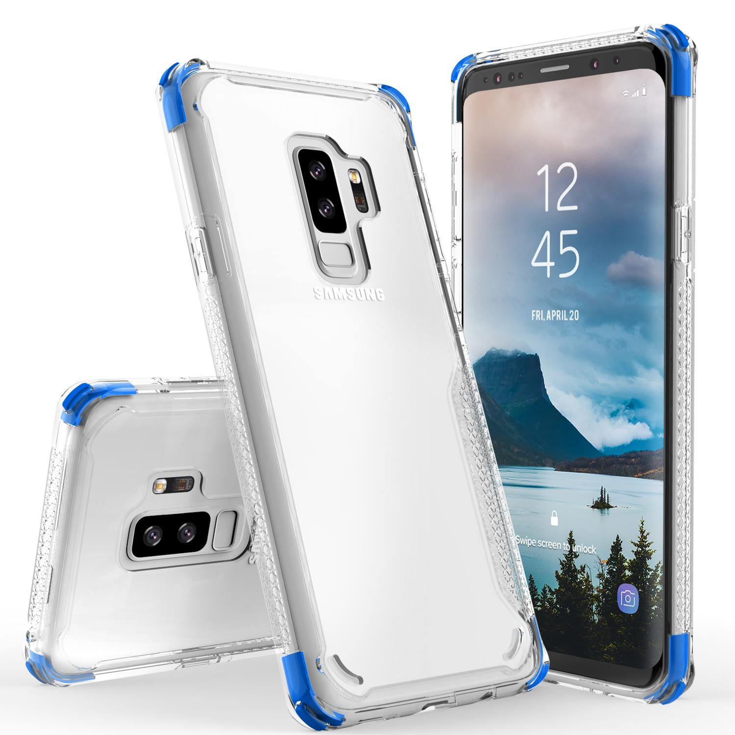 BLUE GALAXY S9 PLUS CASE