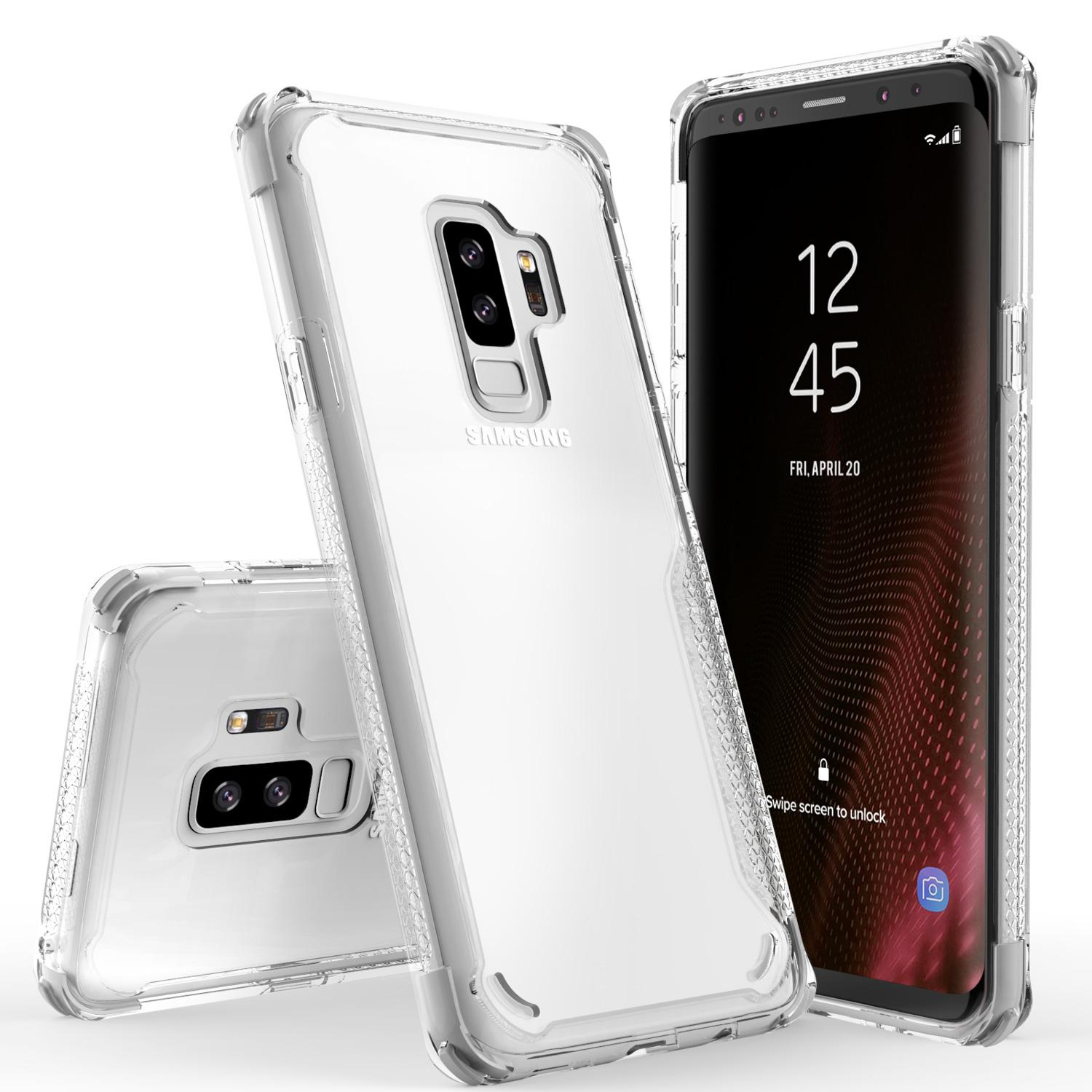 WHITE GALAXY S9 PLUS CASE