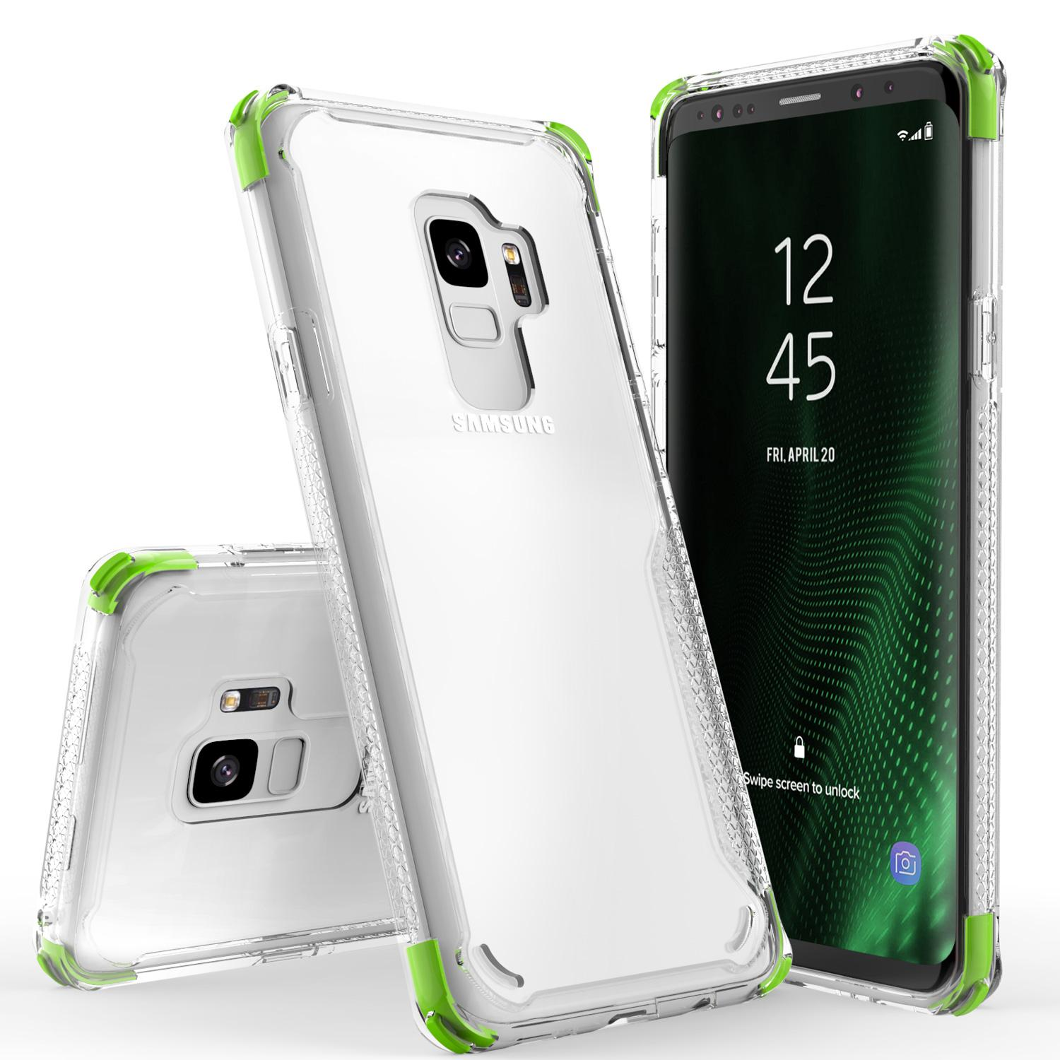 GREEN GALAXY S9 CASE