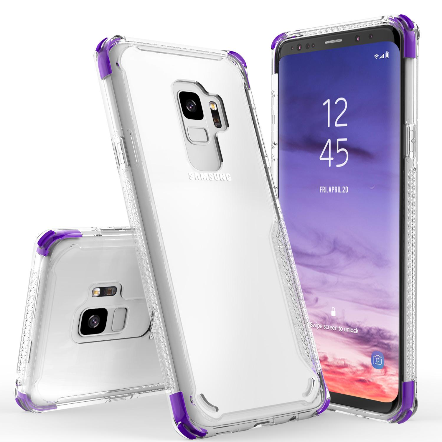 PURPLE GALAXY S9 CASE