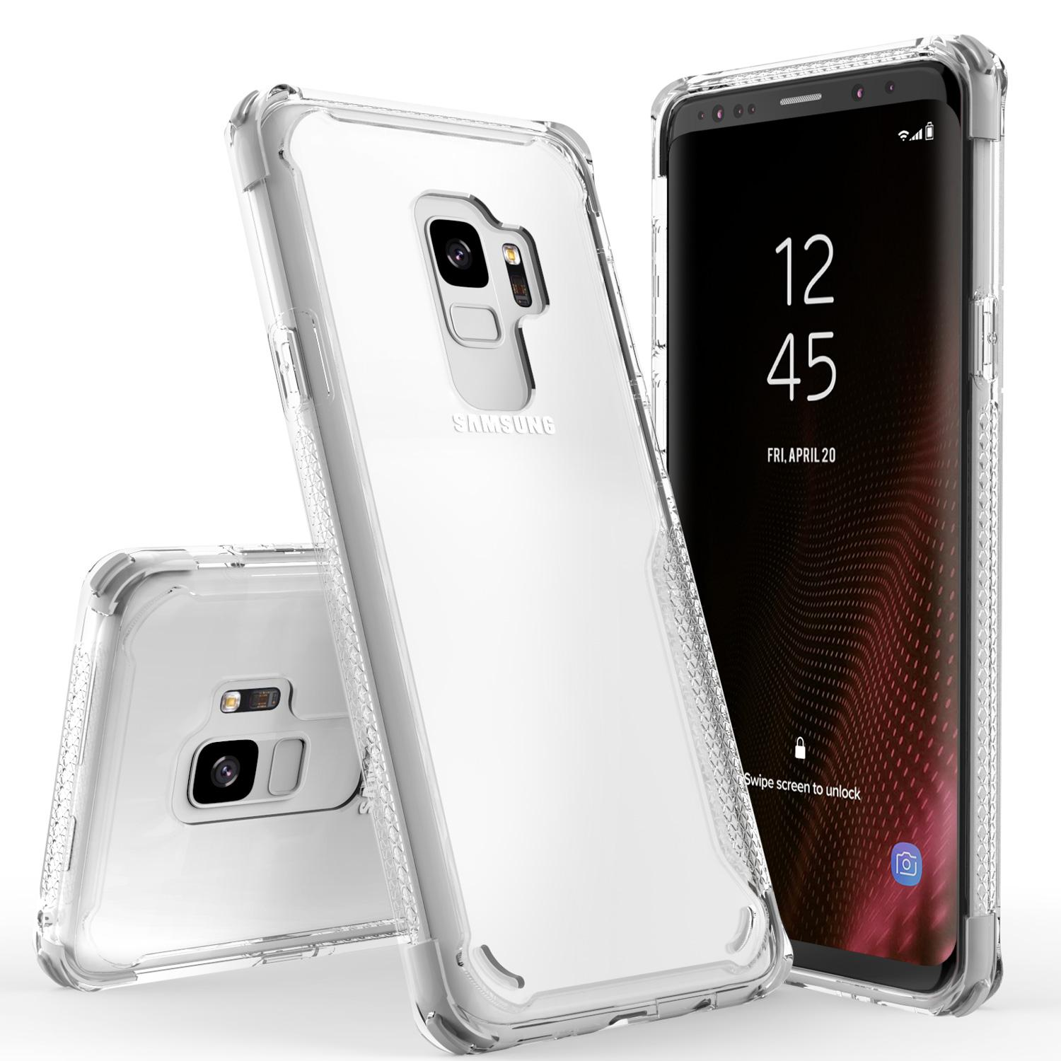 WHITE GALAXY S9 CASE