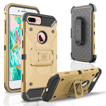 GOLD IPHONE 7 PLUS TOUGH ARMOR CASE