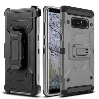 GRAY GALAXY NOTE 8 CASE