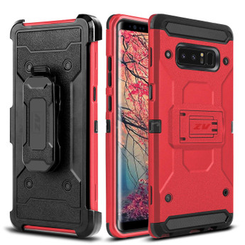 RED GALAXY NOTE 8 CASE
