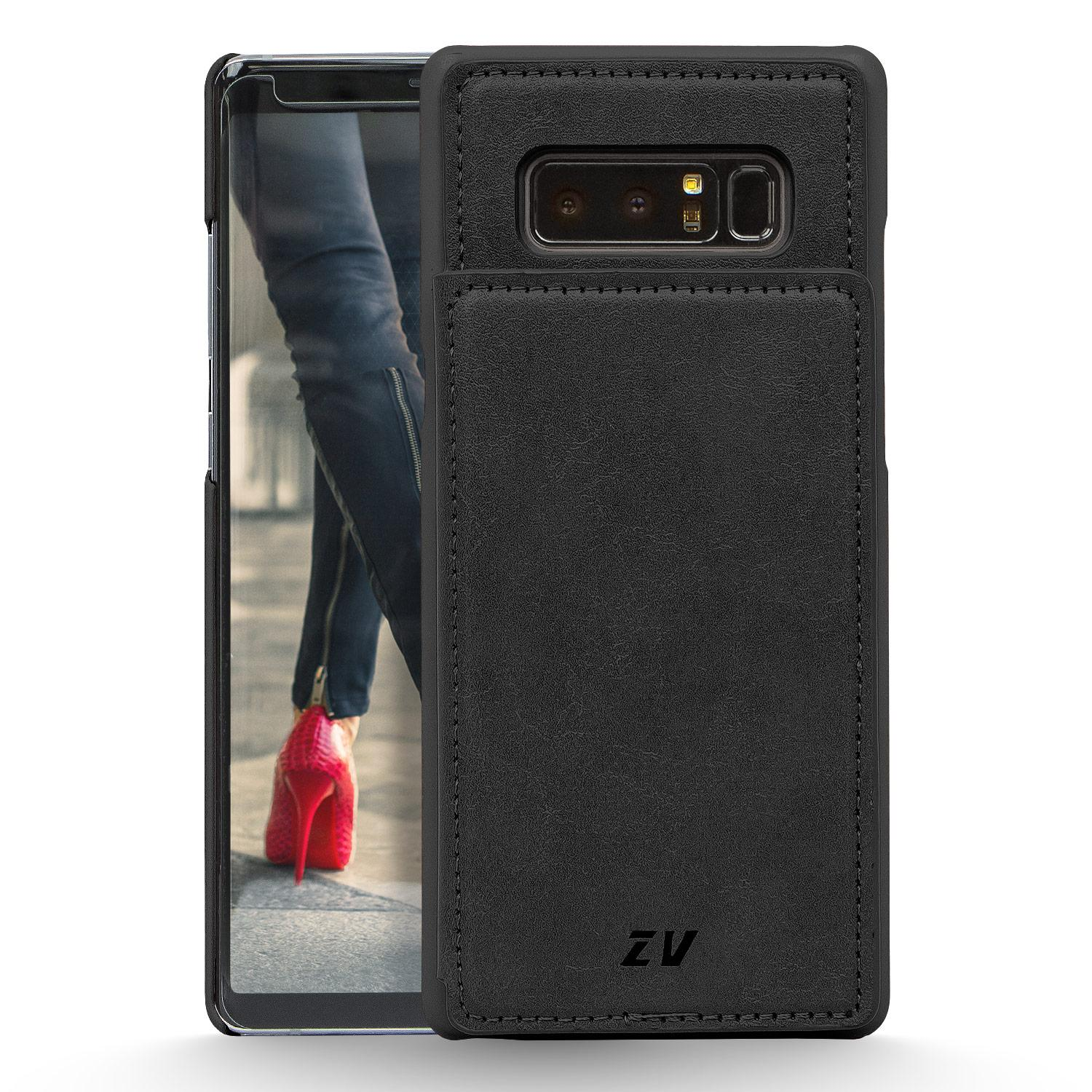 BLACK GALAXY NOTE 8 LEATHER WALLET
