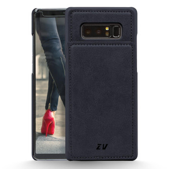 BLUE GALAXY NOTE 8 LEATHER WALLET