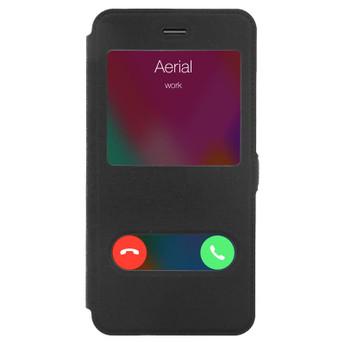 BLACK IPHONE 6S PLUS WINDOW CASE