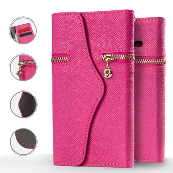 PINK IPHONE 8 PLUS CARD POCKETS