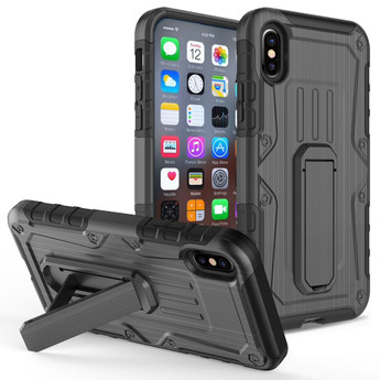 IPHONE X ARMOR HYBRID BLACK