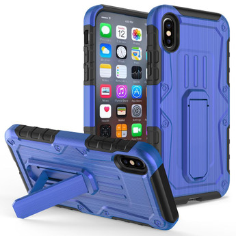 IPHONE X ARMOR HYBRID BLUE/BLACK