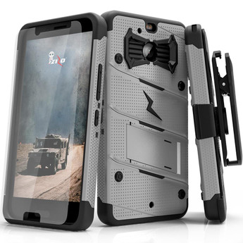 GRAY HTC BOLT CASE