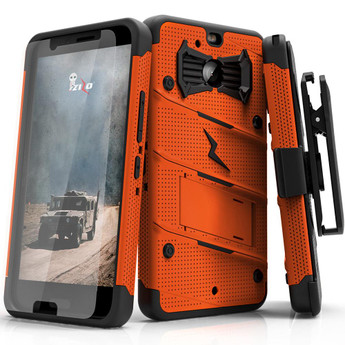 ORANGE HTC BOLT CASE