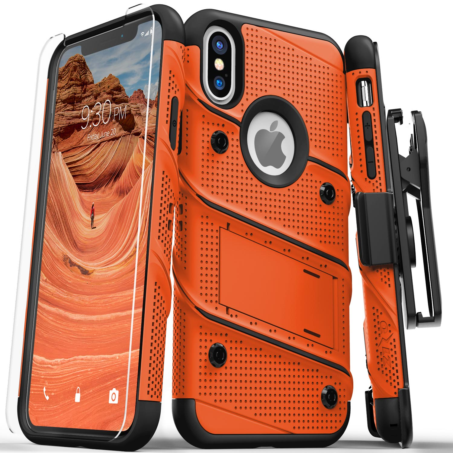ORANGE IPHONE X CASE