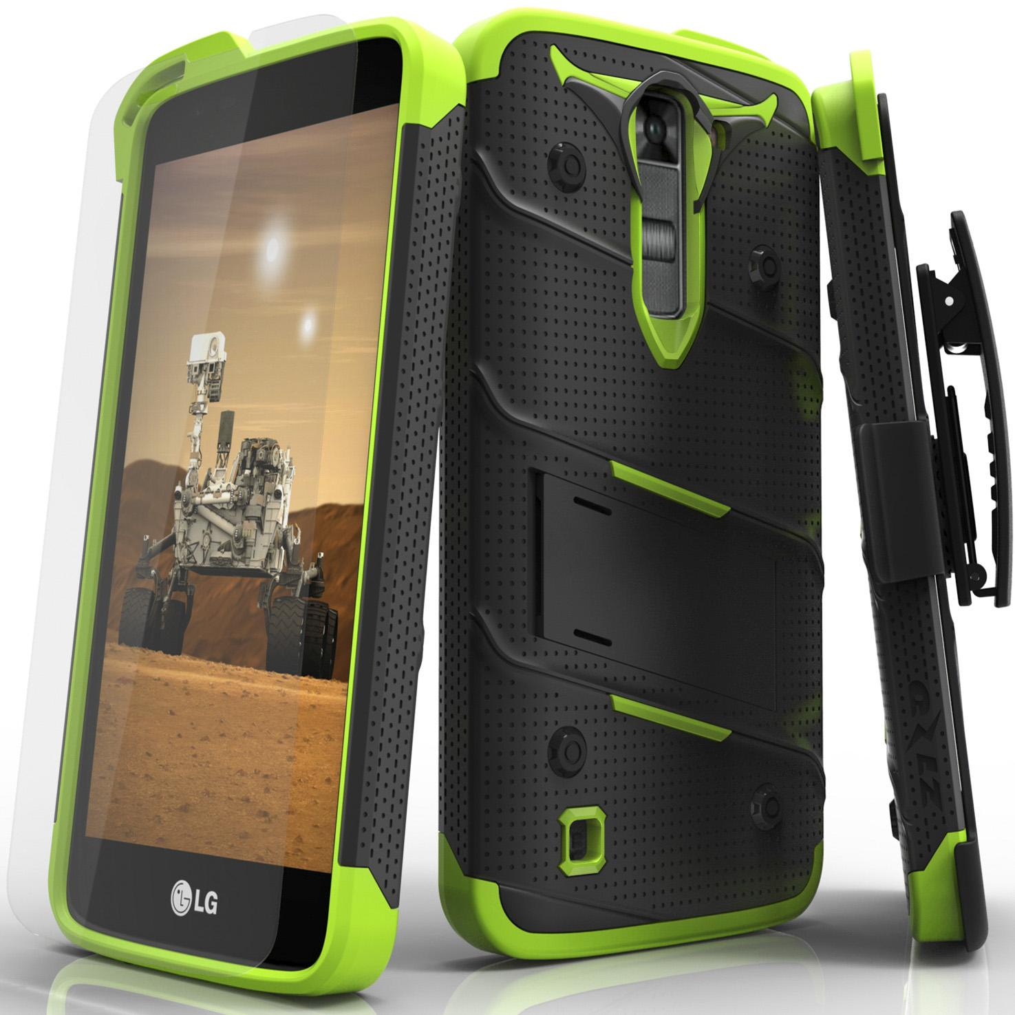 GREEN LG K7 BOLT CASE