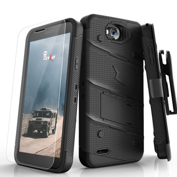 BLACK LG X CHARGE BOLT CASE