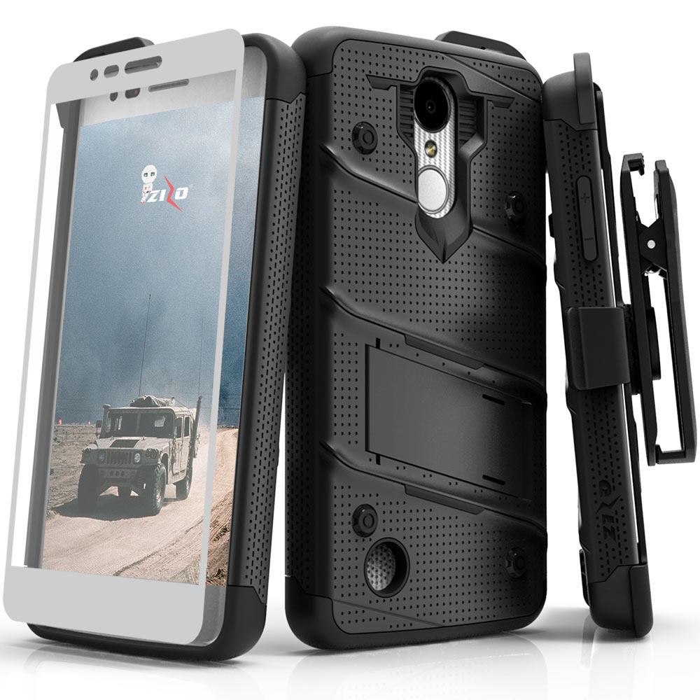 BLACK LG ARISTO 2 CASE