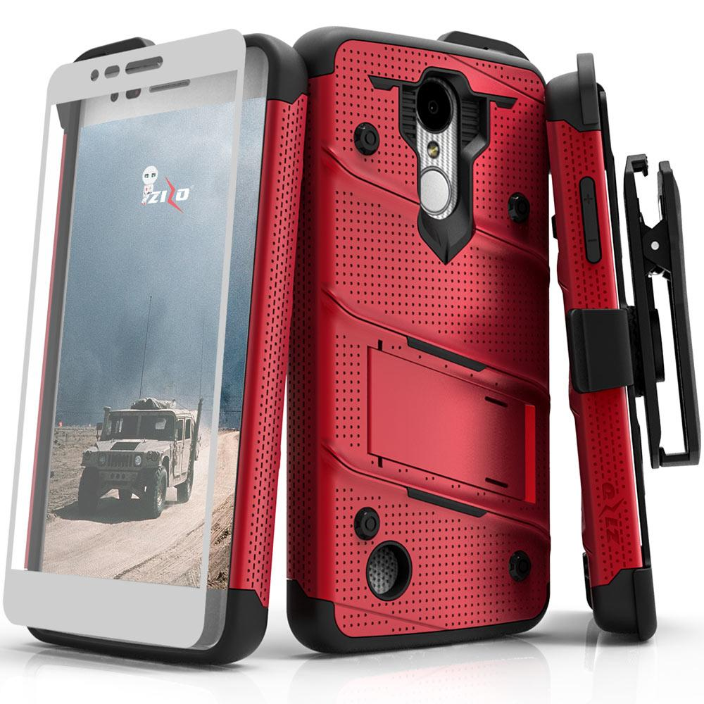 RED LG ARISTO 2 CASE