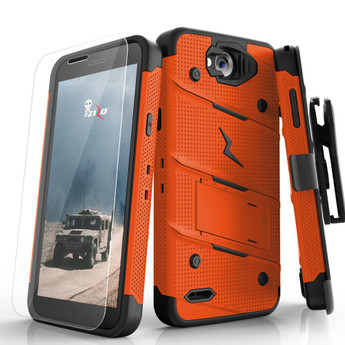 ORANGE LG X CHARGE CASE