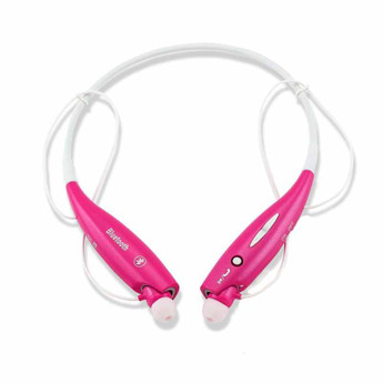 PINK DUAL PAIRING SPORTS NECKBAND