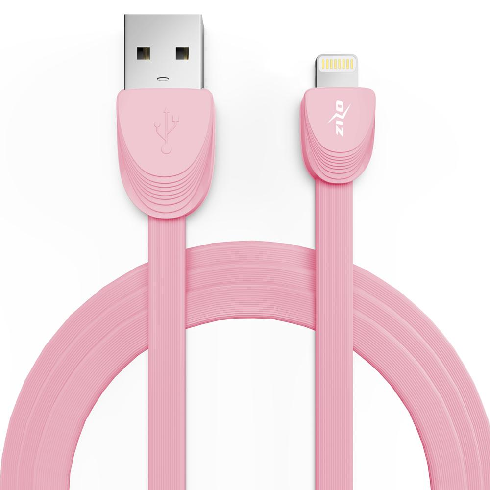 PINK IPHONE 3 FEET CABLE CHARGER