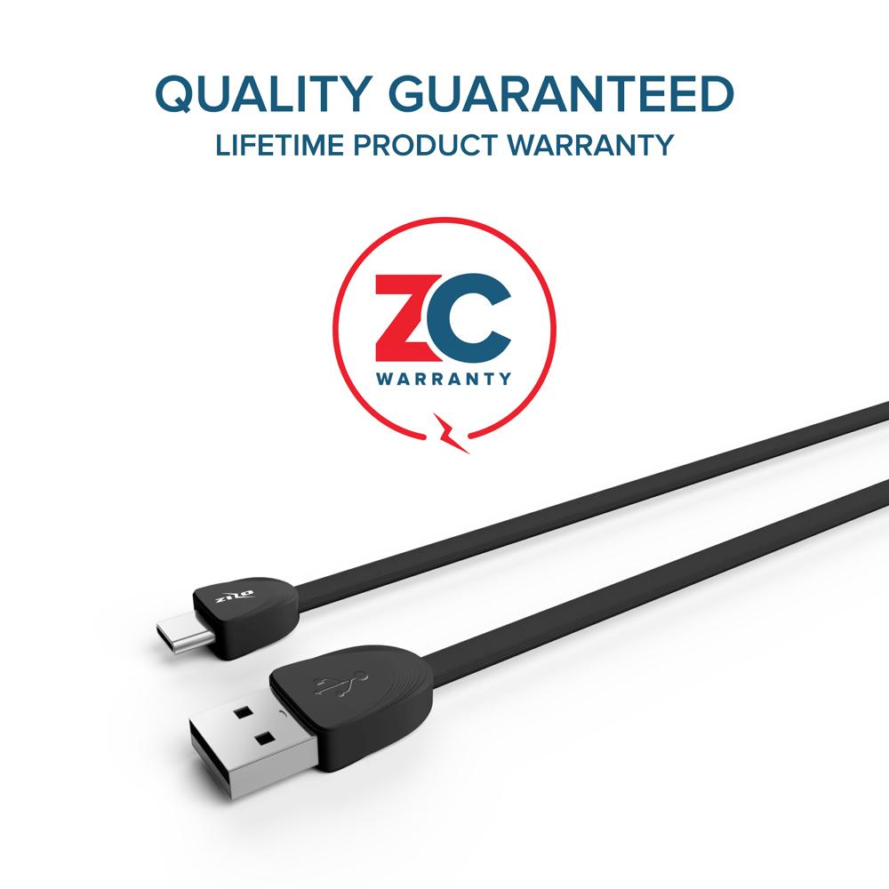 USB Type C Cable 6ft by ZizoCharge - Zizo