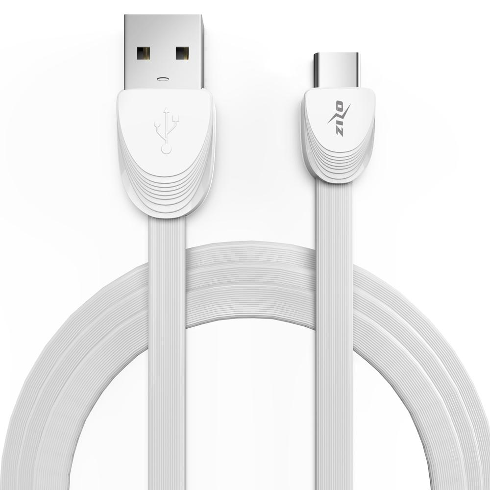 WHITE TYPE C CABLE 3 FEET CHARGER