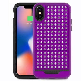 PURPLE IPHONE X CASE