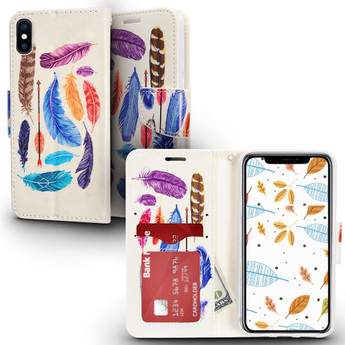 FEATHERS IPHONE X CASE