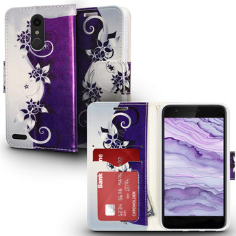 LG HARMONY 2 DESIGN WALLET CASE