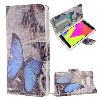 BUTTERFLIES LG V20 LEATHER WALLET