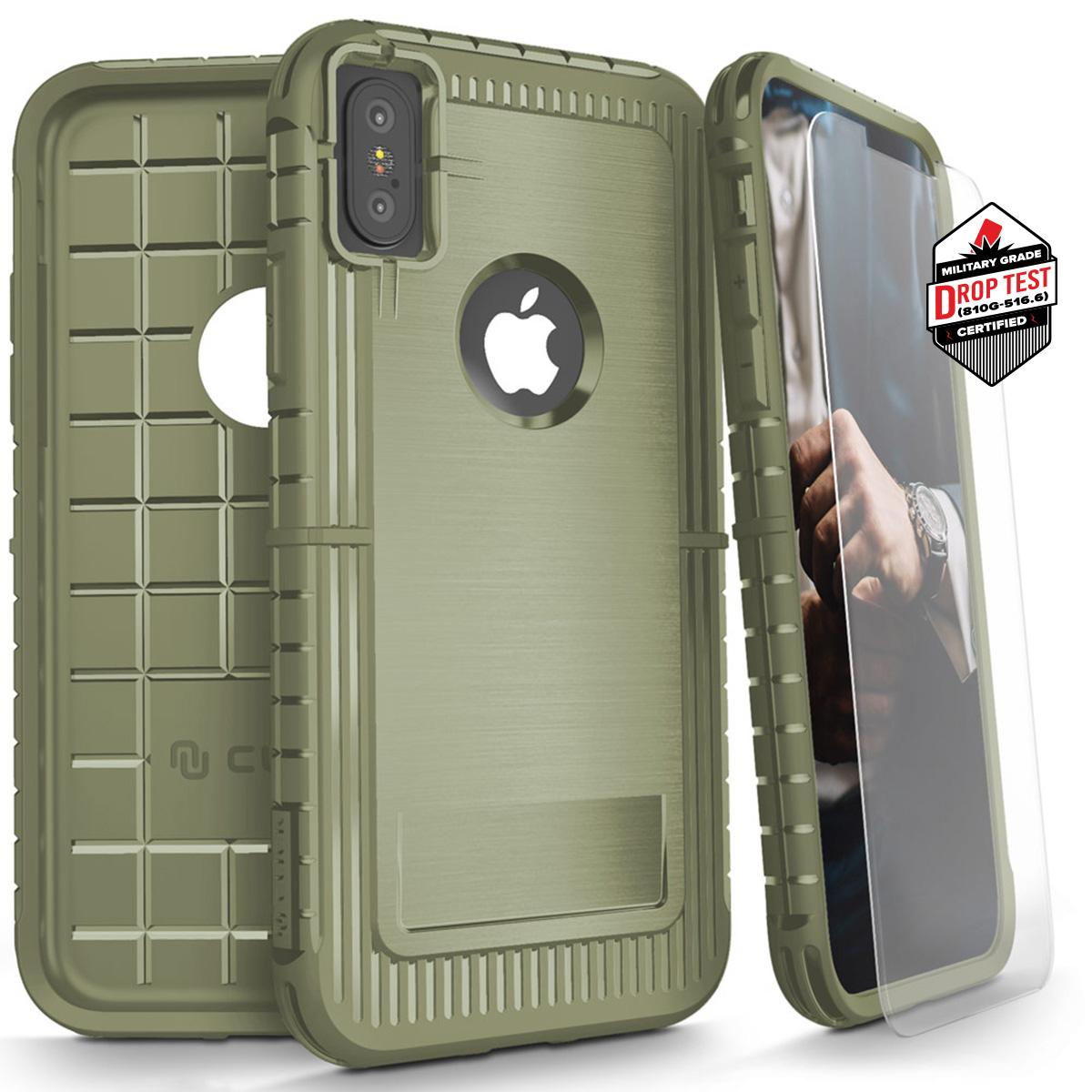 GREEN IPHONE X CASE
