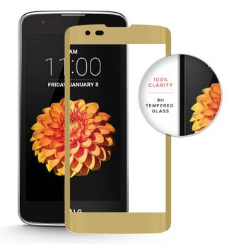 LG K7 TEMPERED GLASS GOLD