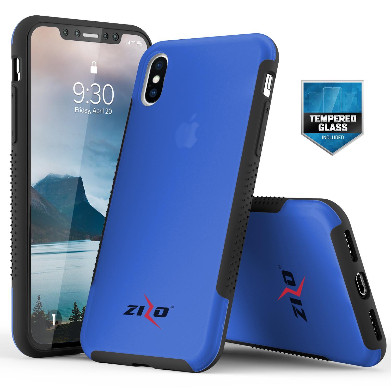 BLUE IPHONE X FLUX 3 CASE