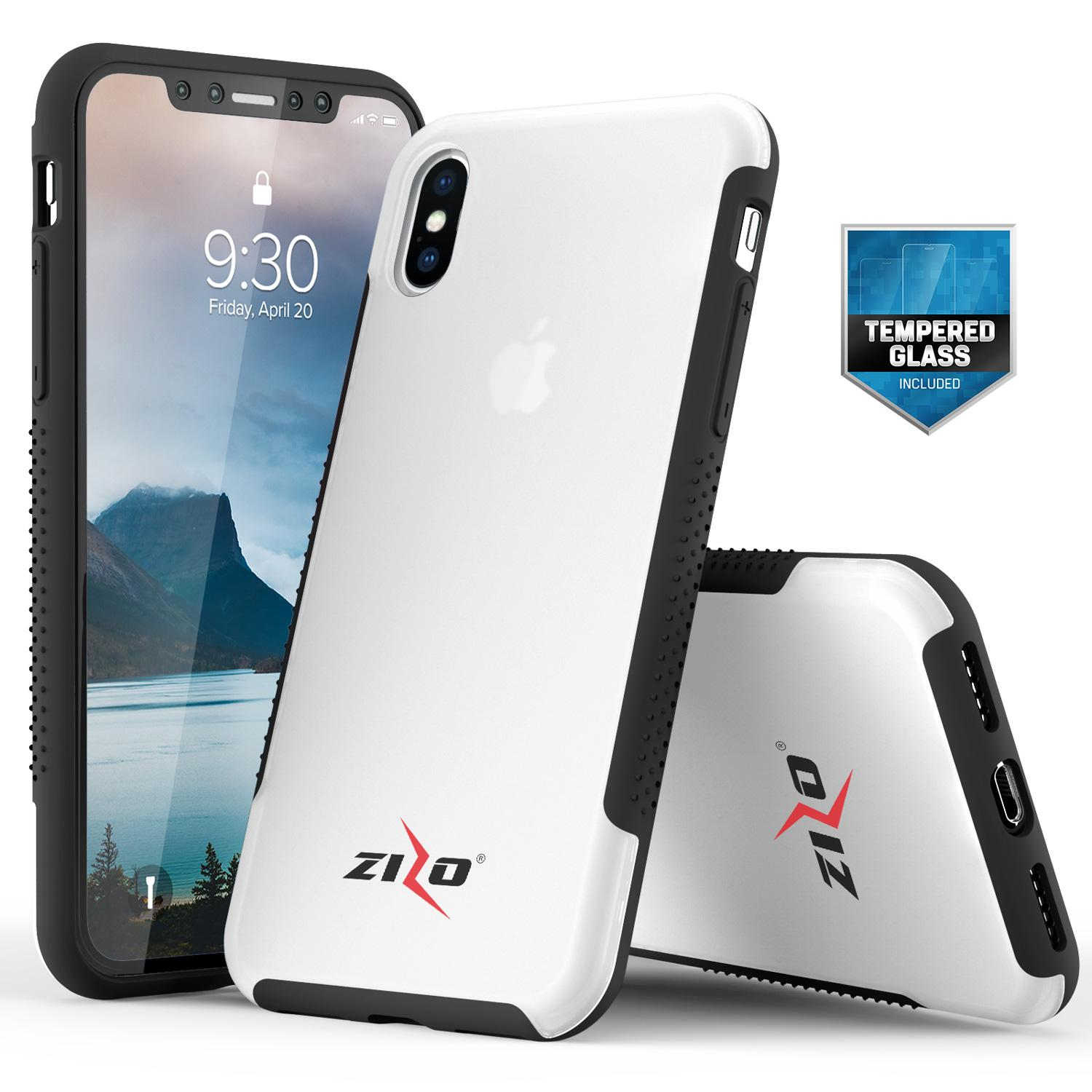 CLEAR IPHONE X FLUX 3 CASE