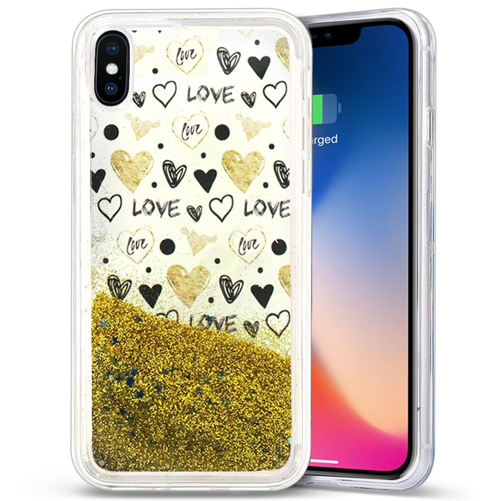HEARTS IPHONE X CASE