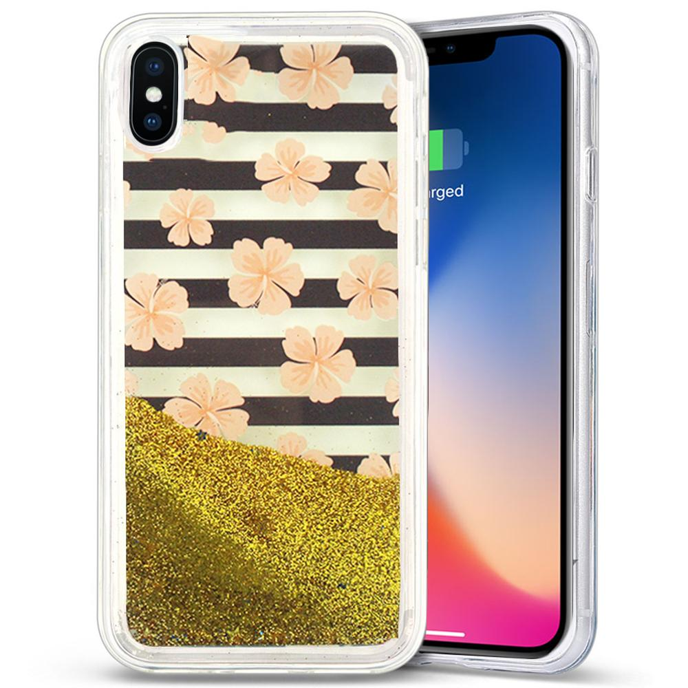 PINK FLOWERS IPHONE X CASE