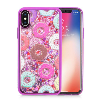 IPHONE X GLITTER 2 CASE