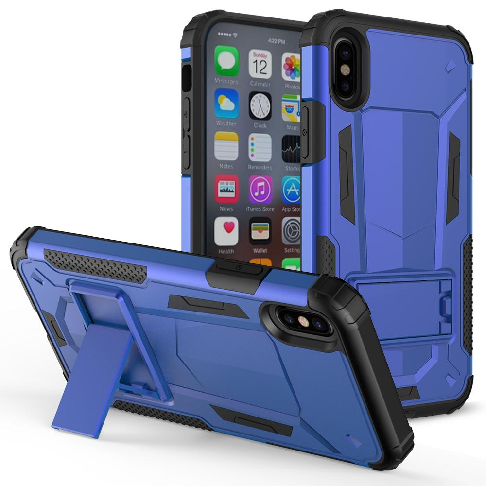 BLUE IPHONE X CASE