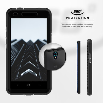 ZTE Avid Trio Case Ion Series - Zizo