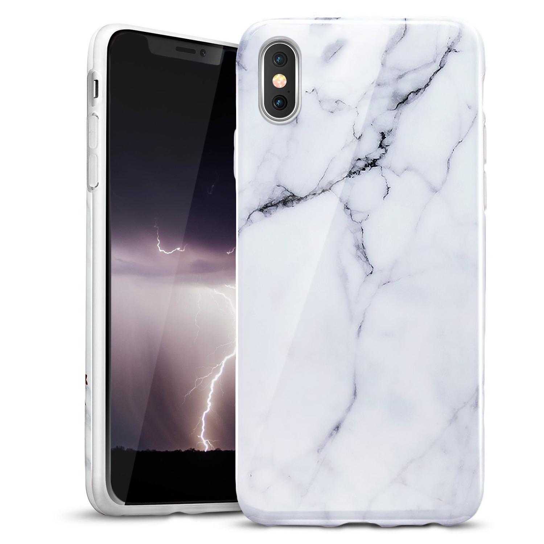 WHITE IPHONE X CASE
