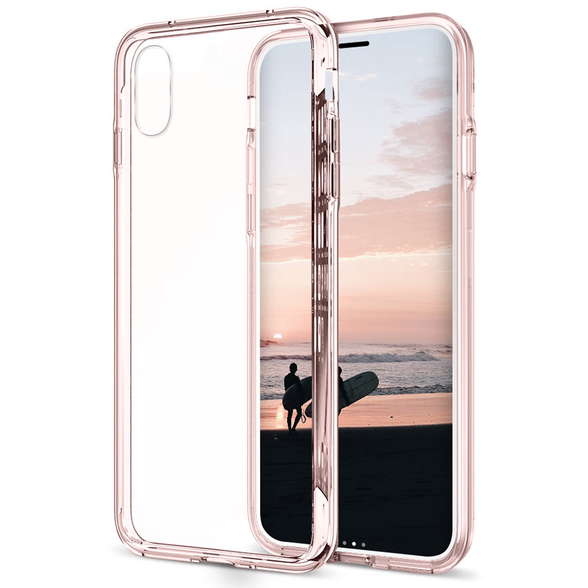 PINK IPHONE X THIN PROTECTION
