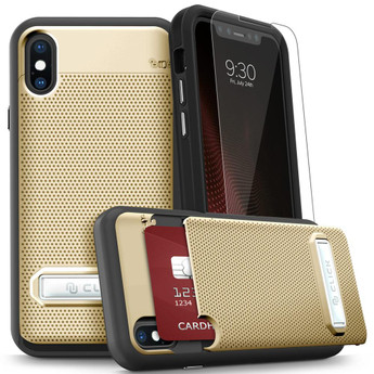 GOLD IPHONE X PHASE CASE