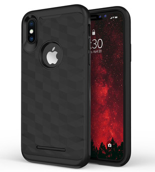 BLACK IPHONE X PRISM CASE