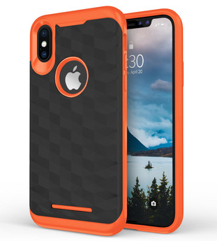 ORANGE IPHONE X PRISM CASE