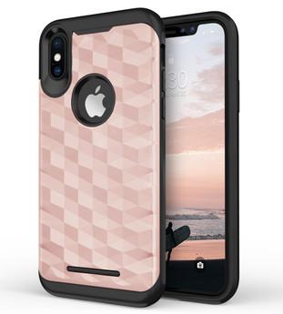 ROSE GOLD IPHONE X PRISM CASE